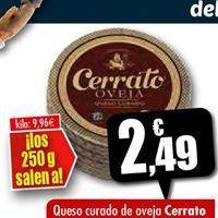 Oferta de Queso de oveja Cerrato por 2,49€