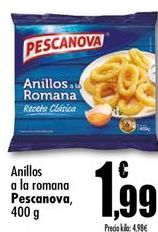 Oferta de Anillas de calamar Pescanova por 1,99€