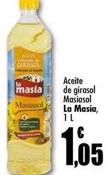 Oferta de Aceite de girasol La Masía por 1,05€