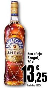 Oferta de Ron añejo Brugal por 13,25€