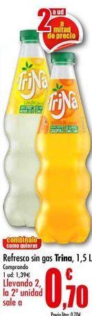 Oferta de Refresco de naranja Trina por 1,39€