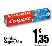 Oferta de Dentífrico Colgate por 1,35€