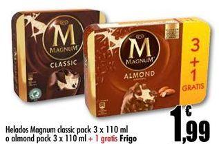 Oferta de Helados Magnum por 1,99€