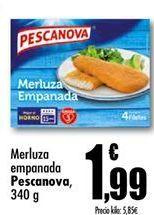 Oferta de Merluza empanada Pescanova por 1,99€