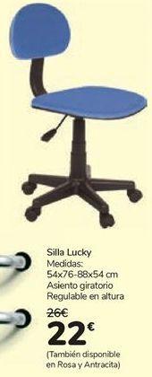Oferta de Silla Lucky  por 22€