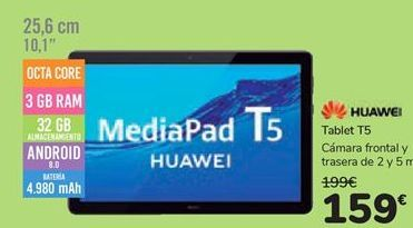 Oferta de Tablet T5 HUAWEI  por 159€