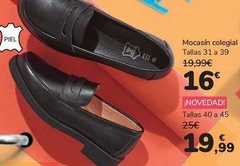 Oferta de Mocasín colegial por 16€