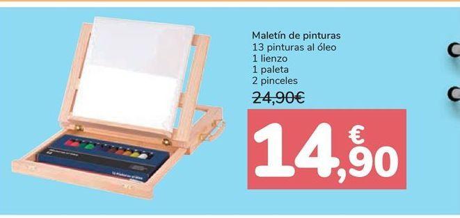 Oferta de Maletín de pinturas  por 14,9€