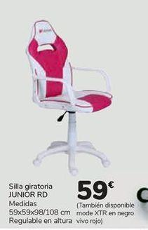 Oferta de Silla giratoria JUNIOR RD  por 59€