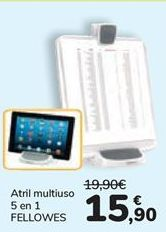 Oferta de Atril multiusos 5 en 1 FELLOWES  por 15,9€