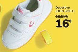Oferta de Deportivo JOHN SMITH por 16€