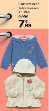 Oferta de Sudadera bebé por 7,99€