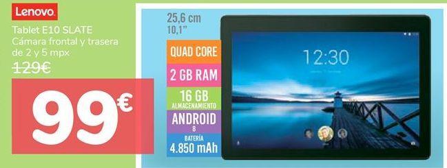 Oferta de Tablet E10 SLATE  por 99€