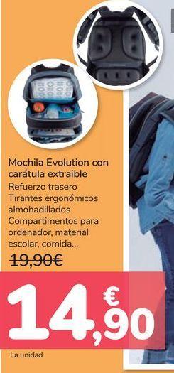 Oferta de Mochila Evolution con carátula extraible  por 14,9€