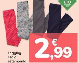 Oferta de Legging liso o estampado por 2,99€