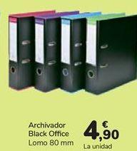 Oferta de Archivador Black Office  por 4,9€