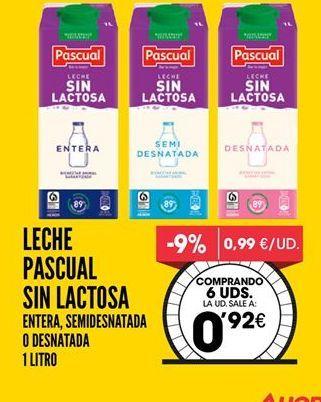 Oferta de Leche Pascual por 0,92€