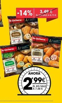 Oferta de Croqueta Artesana La Cocinera por 2,99€