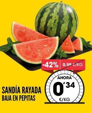 Oferta de Sandía por 0,34€