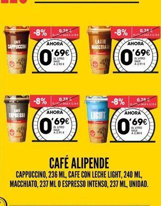 Oferta de Café Alipende por 0,69€