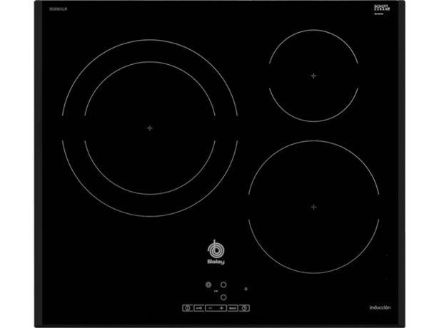 Oferta de Placa de Inducción BALAY 3EB965LR (Eléctrica - 59.2 cm - Negro) por 349,99€