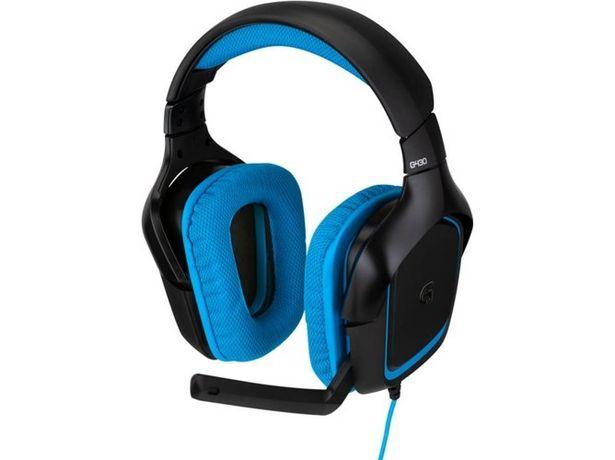 Oferta de Auriculares Gaming Con Cable LOGITECH G430 (Caja Abierta - Con Micrófono) por 55,97€