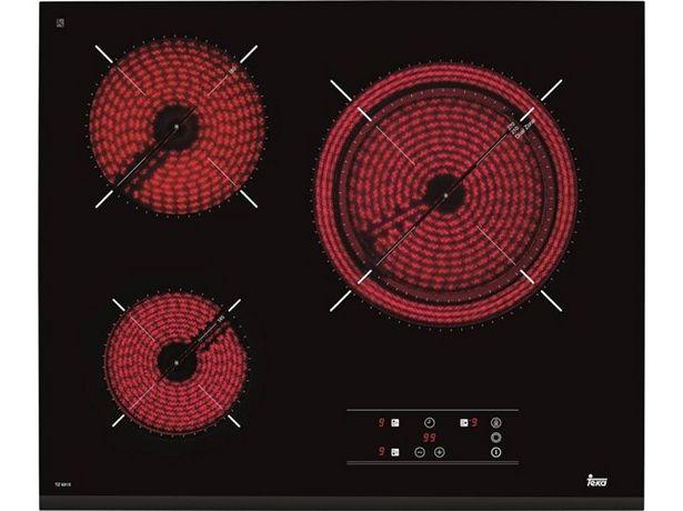 Oferta de Placa de Vitrocerámica TEKA TZ 6315 (Caja Abierta - Eléctrica - 60 cm - Negro) por 179,97€