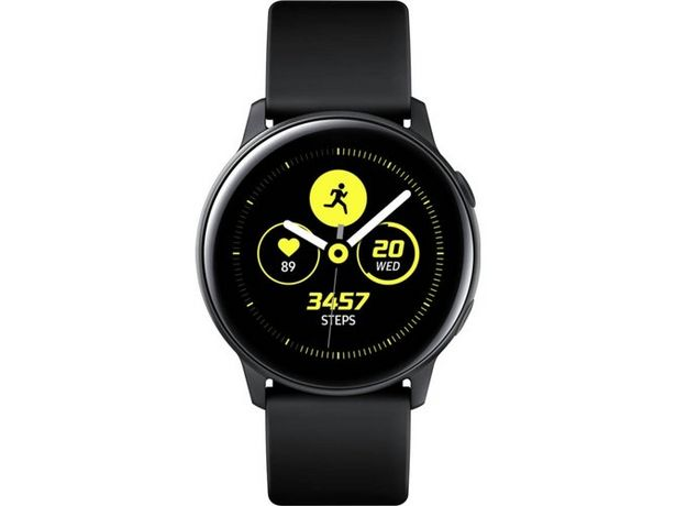 Oferta de Smartwatch SAMSUNG Galaxy Watch Active Negro por 159€