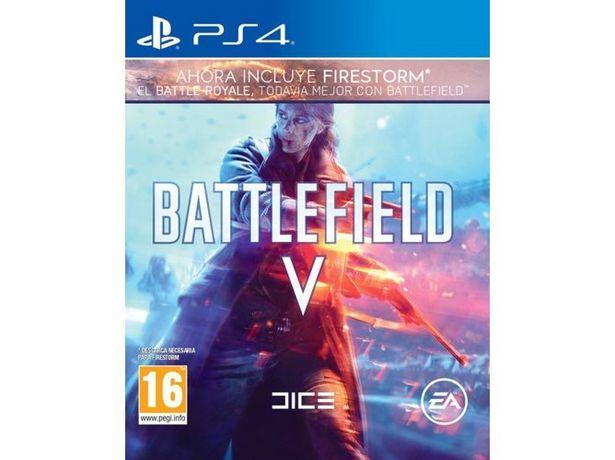 Oferta de Juego PS4 Battlefield V por 17,99€