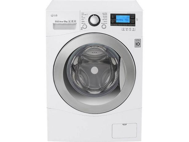 Oferta de Lavadora LG FH495BDN2 (12 kg - 1400 rpm - Blanco) por 677,99€
