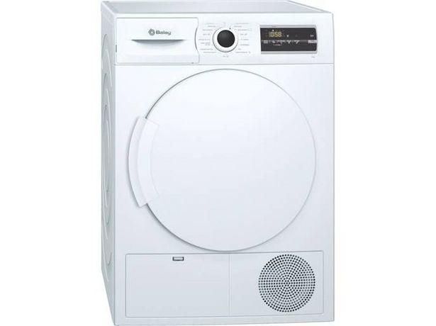 Oferta de Secadora BALAY 3SC385B (8 kg - Condensación - Blanco) por 447,99€