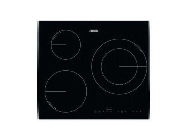 Oferta de Placa de Inducción ZANUSSI ZIT6360BB (Eléctrica - 59 cm - Negro) por 355,36€