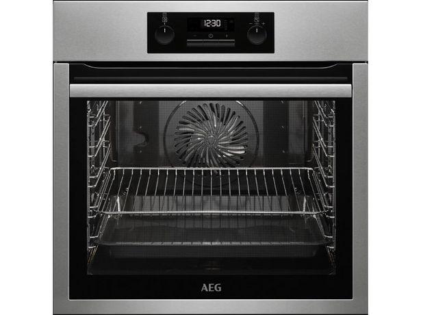 Oferta de Horno AEG SurroundCook BPS331120M (71 L - 59.5 cm - Pirolítico - Inox) por 399,99€