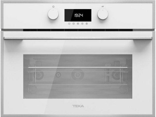 Oferta de Microondas Integrable TEKA MLC 844 WH (44 L - Con Grill - Blanco) por 492,79€