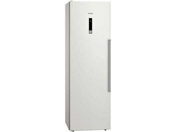 Oferta de Frigorífico 1 puerta Reacondicionado SIEMENS KS36VBW30 (Grado B - Circulación dinámica - 186 cm - 346 L - Blanco) por 879,27€