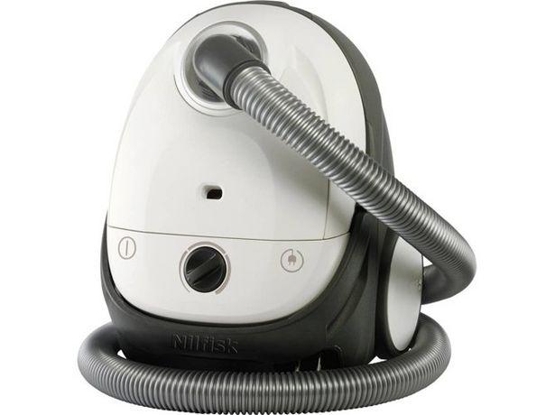 Oferta de Aspirador con bolsa NILFISK One White Parquet (Caja Abierta - A - 74 dB - Bolsa de polvo: 2.1 L) por 125,97€