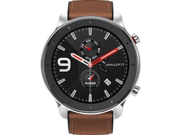 Oferta de Smartwatch AMAZFIT GTR 47mm Acero inoxidable por 114,9€