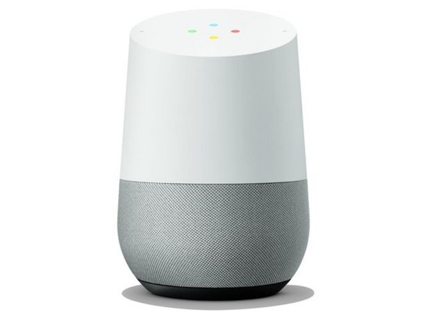 Oferta de Altavoz Inteligente GOOGLE Home (Gris - Wi-Fi) por 69,99€