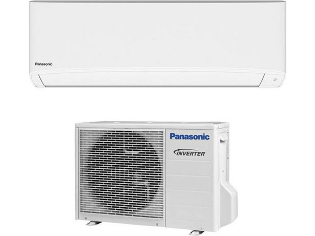 Oferta de Aire Acondicionado PANASONIC KIT-TE35-TKE  (24 m² - 3011 Frig/h - Blanco) por 569,99€