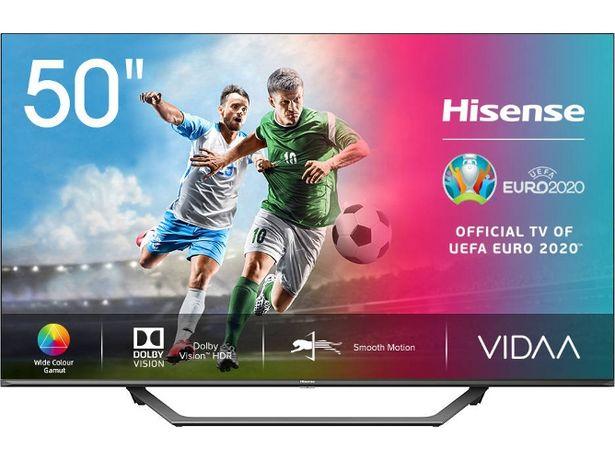 Oferta de TV HISENSE 50A7500F (LED - 50'' - 127 cm - 4K Ultra HD - Smart TV) por 413,21€