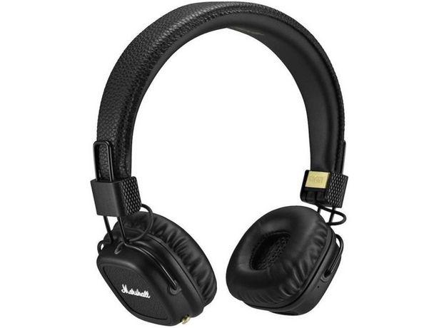 Oferta de Auriculares Bluetooth MARSHALL Marshall Major II (Caja Abierta - On ear - Micrófono - Atiende llamadas - Negro) por 134,97€