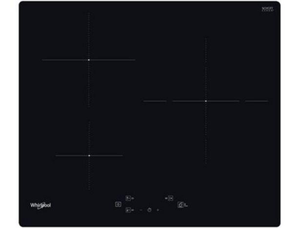 Oferta de Placa de Inducción WHIRLPOOL WS Q1160 NE (Eléctrica - 59 cm - Negro) por 249,99€