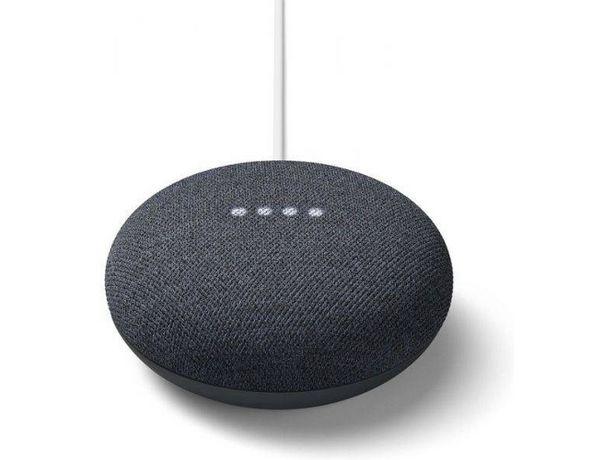 Oferta de Altavoz Inteligente GOOGLE Nest Mini Carbón (Negro - 15 W - Wi-Fi y Bluetooth) por 39,99€