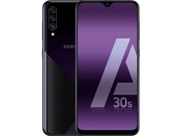 Oferta de Smartphone SAMSUNG Galaxy A30s (6.4'' - 4 GB - 128 GB - Negro) por 219,99€