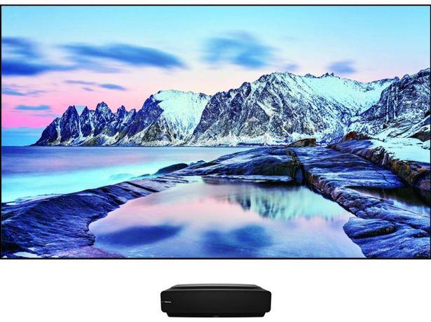 Oferta de TV HISENSE 100L5F (Láser - 100'' - 254 cm - 4K Ultra HD - Smart TV) por 3799€