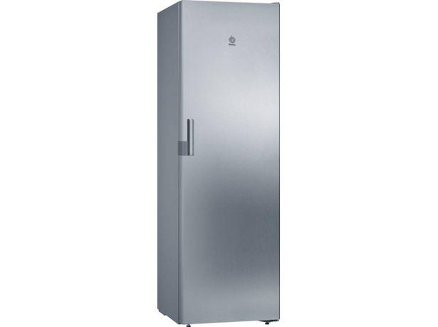 Oferta de Congelador Vertical BALAY 3GFB640ME (No Frost - 186 cm - 242 L - Inox) por 599,99€