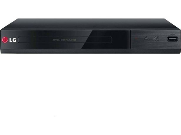 Oferta de Reproductor DVD LG DP132 c/ grabación USB por 27,99€