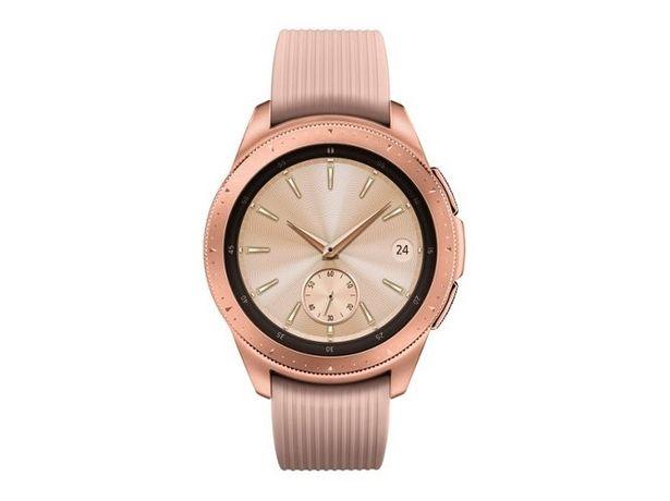 Oferta de Smartwatch SAMSUNG Galaxy Watch Bluetooth 42mm rosa dorado por 199€