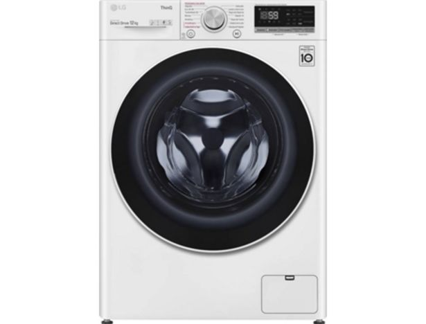 Oferta de Lavadora LG F4WV5012S0W (12 kg - 1400 rpm - Blanco) por 699,99€