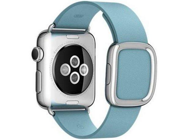 Oferta de Correa para smartwatch APPLE Watch (Caja Abierta - 38mm - Azul) por 247,47€
